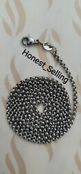James Avery Medium Rolo Chain 20 Inches Sterling Silver