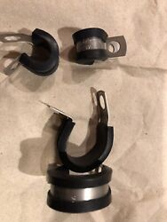 Epdm-coated C-clamps Stainless Steel 3/8andrdquowide