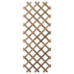 Ikea Askholmen Trellis Light Brown Stained.fast Shipping