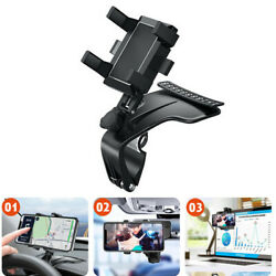 360anddeg Car Dashboard Mount Cradle Holder Stand For Cell Phone Gps Apple Iphone X