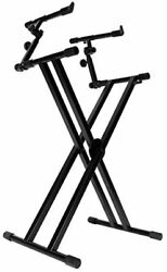 On-stage Stands-double-x Ergo Lok Keyboard Stand With 2nd Tier