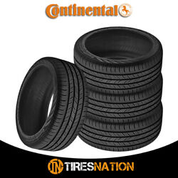 4 New Continental Contiprocontact 255/45/18 99h All-season Grand Touring Tire