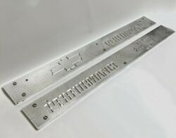 88-98 Gm Truck Chevy Performance Brushed Aluminum Door Sill Plate Kit Gmt400