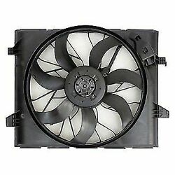 A/c Condenser Cooling Fan Radiator Kit For Dodge Durango Jeep Grand Cherokee