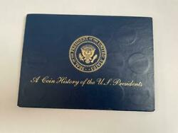 A Coin History Of The U.s. Presidents Set Of 41 President Medals, Bio Reverse
