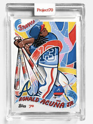 2021 Topps Project 70 Card 130 Ronald Acuna Jr. 2002 By Efdot