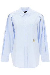 New Collection Ithaca Shirt Ww0ww30937 Wonder Blue Ithica Authent