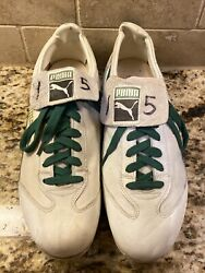 Davey Lopes 15 Oakland Athletics Aand039s Player Worn Cleats Shoes