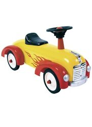 New Schylling Red Metal Speedster Car Classic Ride On Toy