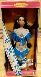 Vintage Native American Barbie 1996 Collectors Edition Dolls Of The World
