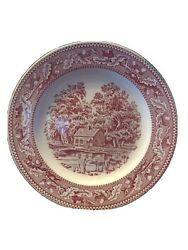 1965 Memory Lane Royal Ironstone Replacement Dinner Plate - Set Of 3