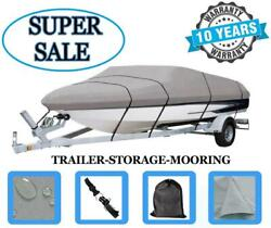 Durable Boat Cover Fits Bayliner 185 Runabout Bowrider 2004 Heavy-duty