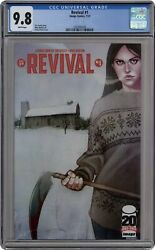 Revival 1a Frison 1st Printing Cgc 9.8 2012 1035845030
