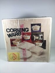 New Corning Ware 1970s Spice O' Life 4 Pc Bakeware Set P-260-8 Sealed Read