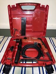 """Hilti Uh 700 Corded Power 1/2"""" Hammer Drill With Case Working -free Shipping-"""