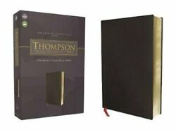 Nasb, Thompson Chain-reference Bible, Bonded Leather, Black, Red Letter, 1977