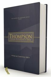 Nasb, Thompson Chain-reference Bible, Hardcover, Red Letter, 1977 Text New