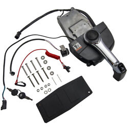 Outboard Remote Throttle Control Box Single Lever For Johnson And Evinrude