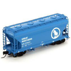 Athearn Ath23343 Acf 2970 Covered Hopper Gn 173824 Freight Car N Scale