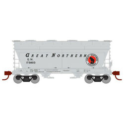Athearn Ath23440 Acf 2970 Covered Hopper Gn 173803 Freight Car N Scale