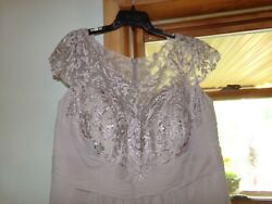 Mother Of The Bride Or Groom Dress New Size 2x Taupe