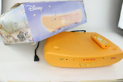 Rare 2005 Disney Winnie The Pooh Dvd Player With Remote - Vintage - Collectible