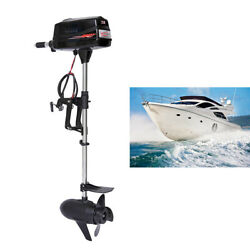 Electric Outboard Motor 48v Inflatable Fishing Boat Engine Brushless Motor 3krpm