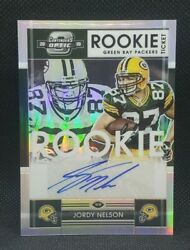 Jordy Nelson 2019 Contenders Optic 2008 Rookie Tribute Auto /25 Packers