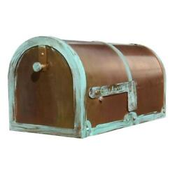 Qualarc-provincial Collection Brass Mailboxes Rural Mb-3000 In Antiqued Pat...