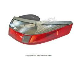 Porsche 911 1999-2005 Taillight Lens Clear / Red Right / Pass. Side Genuine