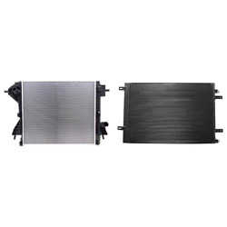 Radiator And A/c Condenser Kit For 11-14 Ford F-250 Super Duty F-350 Super Duty