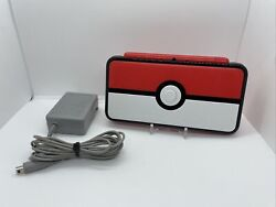 Nintendo 2ds Xl - Pokemon Pokeball Edition - With Charger - Nice Condition