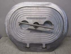 Baier Aluminum Hatch Ring With T-handle Bfhoth15x24