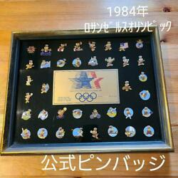 Los Angeles Olympics Official Commemorative Pin Badge Vintage Rare