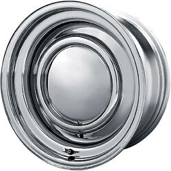 4 - 14x7 Chrome American Racing Vintage Smoothie Wheel 5x114.3 And 5x120.65 -6