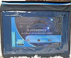 Sheex Experience Performance Cooling 4 Piece Sheet Set Navy Blue King Msrp 200
