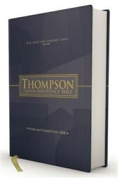 Nasb, Thompson Chain-reference Bible, Hardcover, Red Letter, 1977 Text Hardback