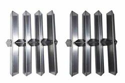 Set Of 2 Stainless Steel Heat Plate For Select Gas Grill Weber, Summit Platinum