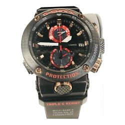 Casio G-shock Gravity Master Carbon And Titanium Gwrb1000x-1a Limited Edition