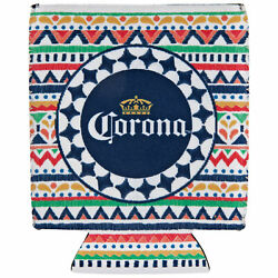 Corona Extra Colorful Can Cooler White