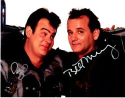 Bill Murray Dan Aykroyd Signed 11x14 Photo Autographed Picture And Coa
