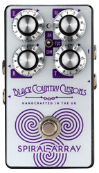 Laney Black Country Customs Spiral Array Boutique Chorus Pedal - Made In England