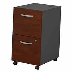 Series C 2 Drawer Mobile File Cabinet In Hansen Cherry Assembled