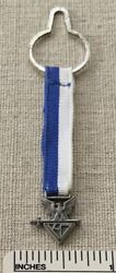 Knights Of The Dunamis Eagle Scout Honor Ribbon Medal Pocket Award Sterling Kd