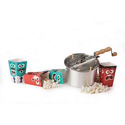 Wabash Valley Farms The Original Whirley Pop Stovetop Popcorn Popper Aluminum