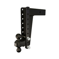 Bulletproof Hitches - Hd3012 - 3 Class 5 Receiver - Heavy Duty 12 Drop/rise
