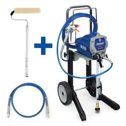 Magnum X7 Cart Airless Paint Sprayer With 4 Ft. Whip Hose Pressure Roller Kit