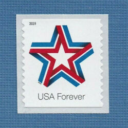 100 Star Ribbon Forever First Class Us Postage Stamps 2019 Patriotic Celebration