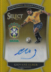 2016-17 Select Historic Signatures Gold 12 Giovane Elber/10