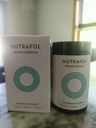 Nutrafol Womenand039s Balance Thinning Hair/loss Capsule - 120 Count Exp 7/2022